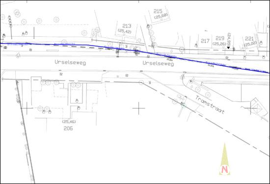 liggingsplan waterleiding