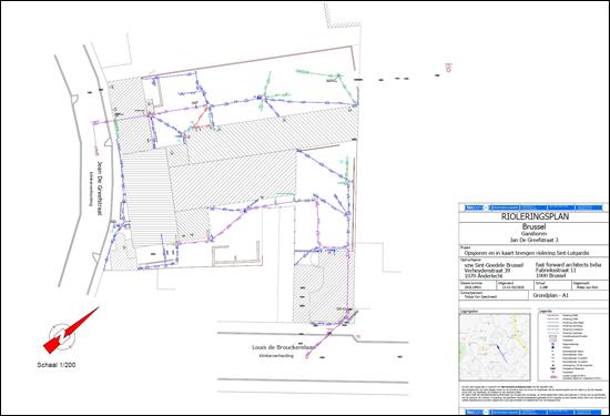 teccon_ondergrondse meting_plan ondergrond school